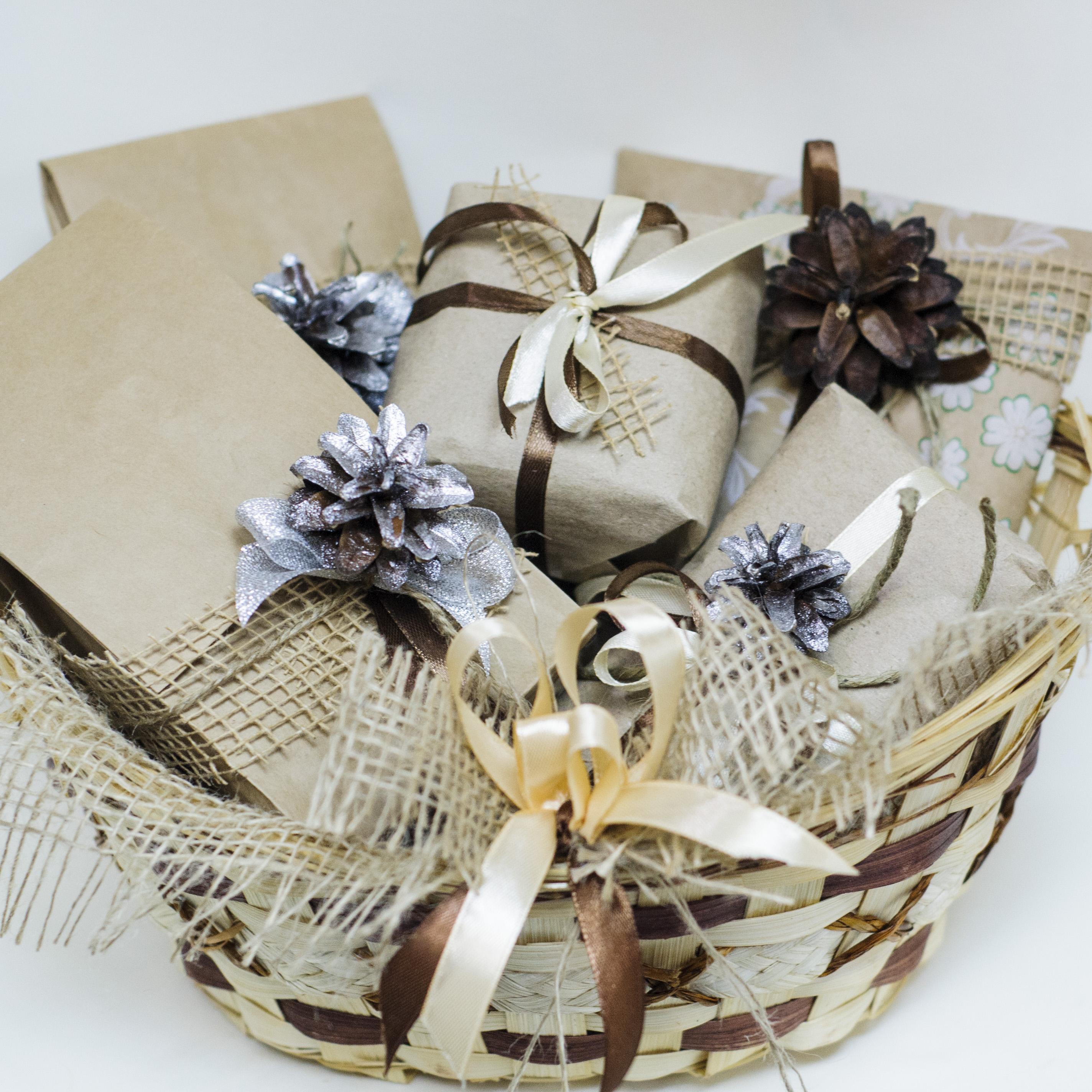 Корзины для упаковки подарков 61